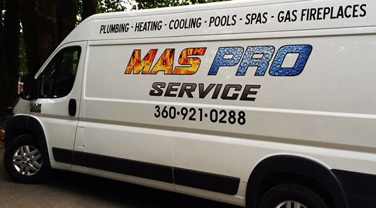 Plumber Battle Ground, WA, MasPro Service